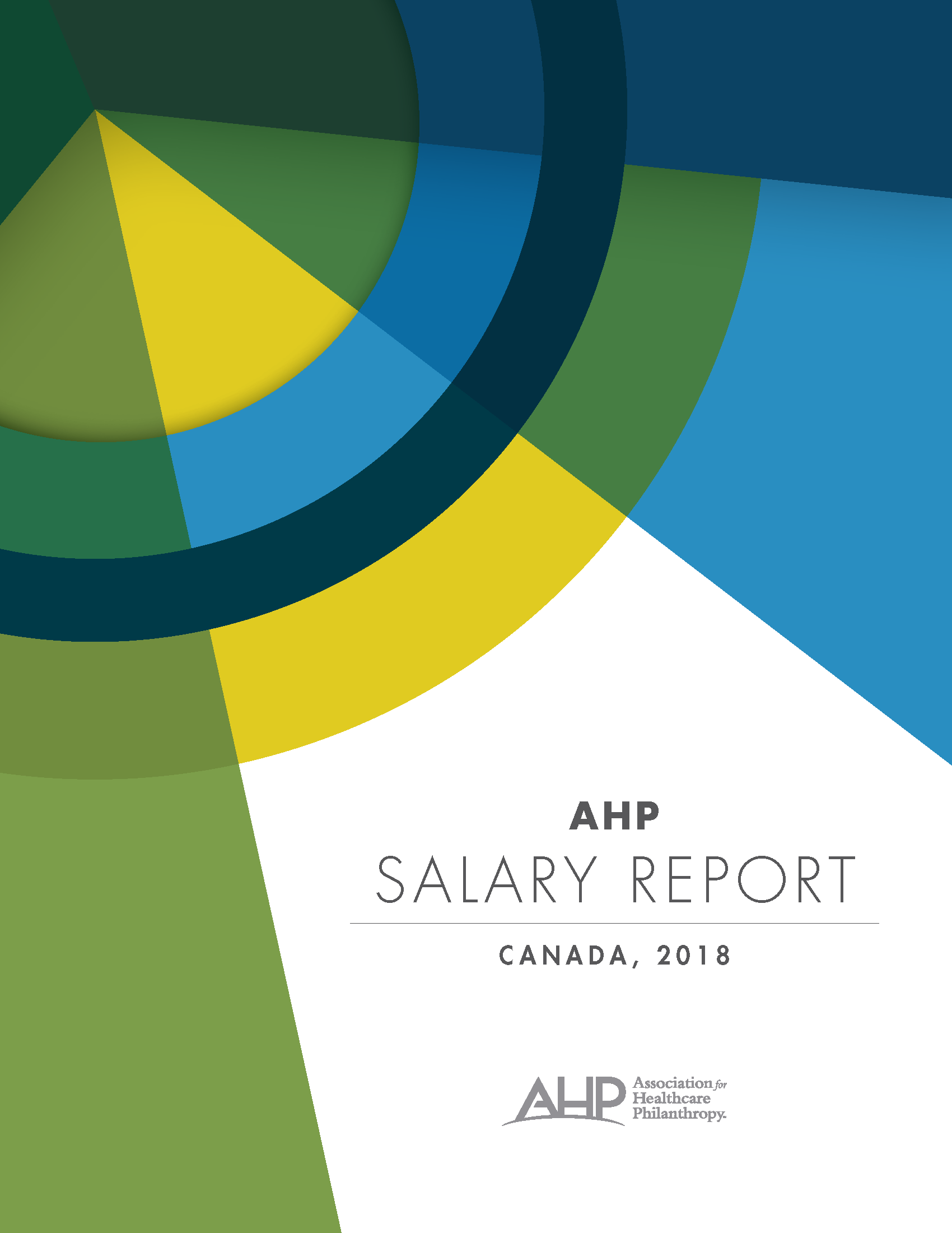 2018 Salary Report Canada Cover