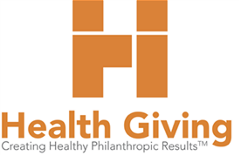 Health Giving Logo (Orange, Square)